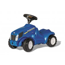 Skrejtraktors ROLLY TOYS NEW HOLLAND T6010